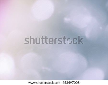 Blue and Purple Tone Bokeh Light Background