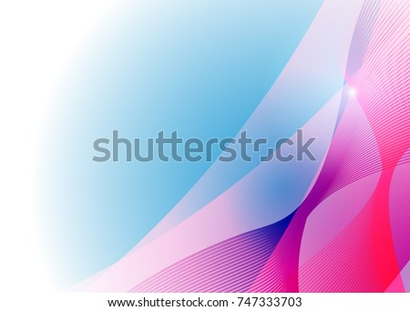 Blue red banner abstract template card stock illustration 747333703 blue and red banner abstract template for card metal background with waves and reflections flashek Gallery