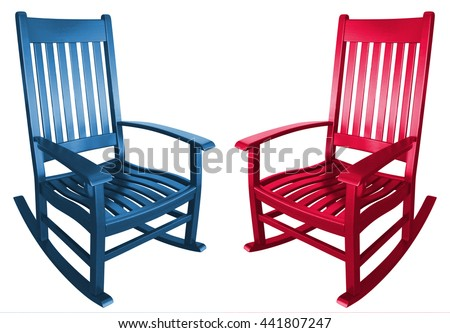 Rocking chair Stock Royalty Free & Vectors
