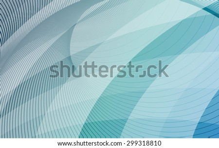 Blue and turquoise background with diagonal stripes. Horizontal minimal backdrop. Can be use for cover cataloges, business card or other print. Raster version  - stock photo