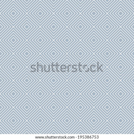 Blue and White Diamonds Tiles Pattern Repeat Background that is seamless and repeats