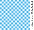 Blue and white gingham cloth background with fabric texture ( for seamless pattern and vector EPS see image 101404867 )  - stock photo