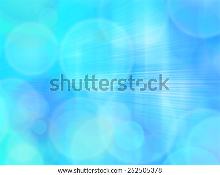 Blue and White Lights Festive background with light beams  - stock photo