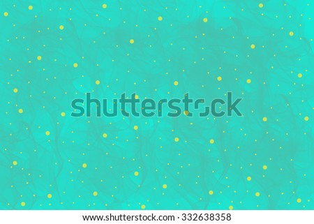 blue and yellow dots background texture