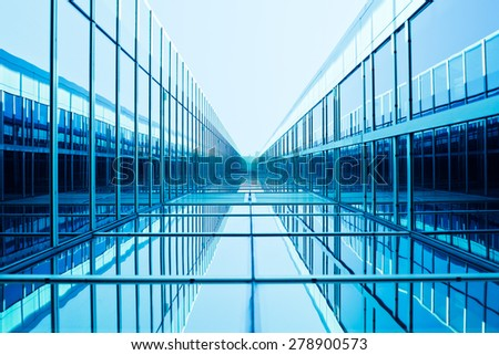 Blue Architecture Background