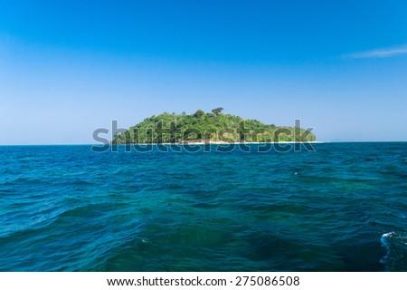 Blue Atoll Exotic Getaway  - stock photo