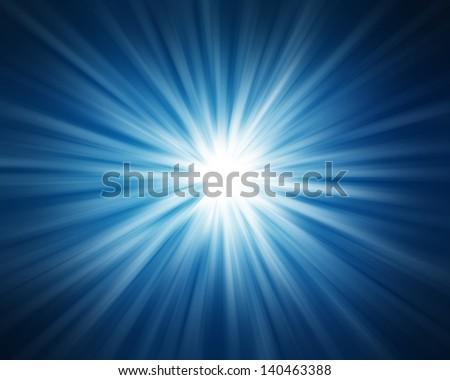 Blue background. - stock photo