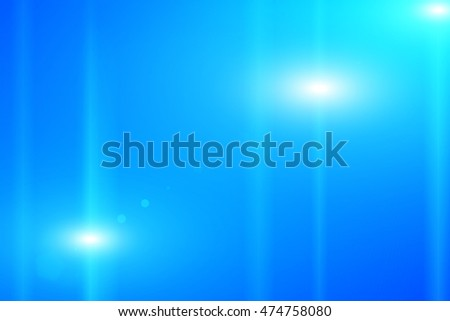 Blue background lighting