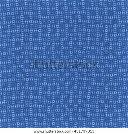 blue background on the basis of synthetic fabric texture