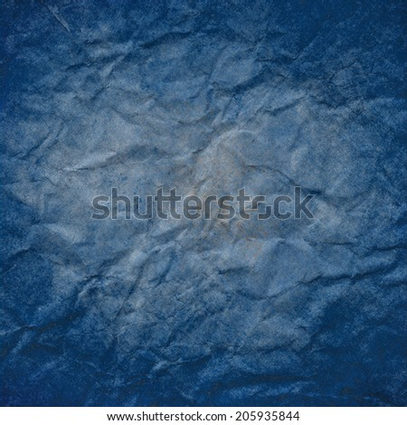 blue background paper gray center and dark blue border design, grunge vintage blue paint texture frame with faded center, blue white paper texture, elegant distressed wall paint