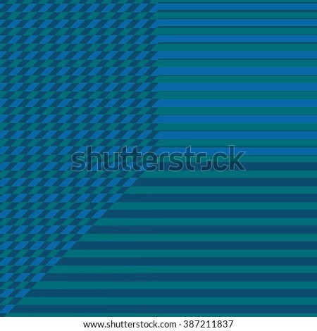 blue background with directional lines