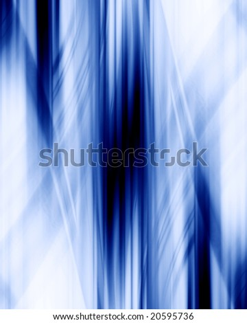 blue background with some smooth lines