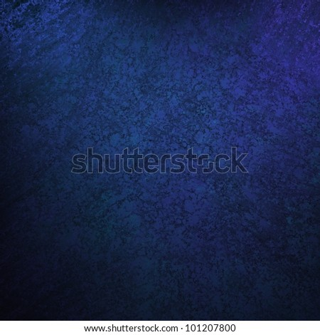blue background with vintage grunge background texture, black vignette border edge on blue wallpaper design for web template background or abstract blue paper brochure layout color in dark royal blue