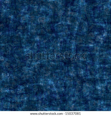 blue batik, seamless texture - stock photo