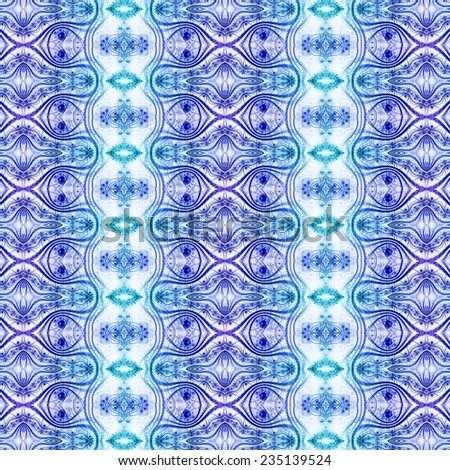 blue beautiful creative ornamental bright pattern
