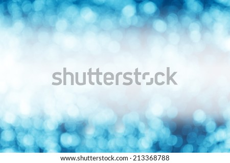 Blue beautiful spring background - stock photo