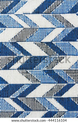 Blue black and white weave wickerwork background texture