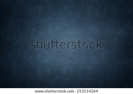 blue blank chalkboard for background - stock photo