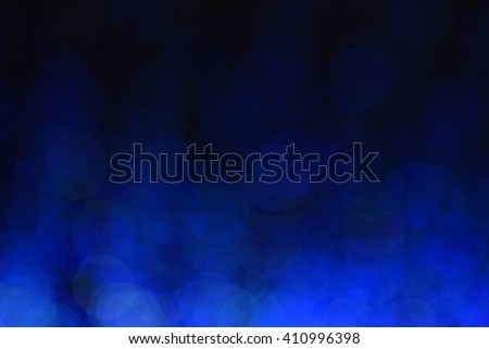 blue blur light background, bokeh at night - stock photo