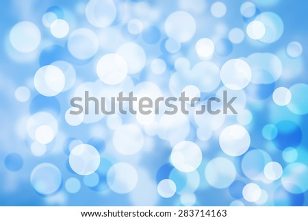 Blue Bokeh abstract background/texture