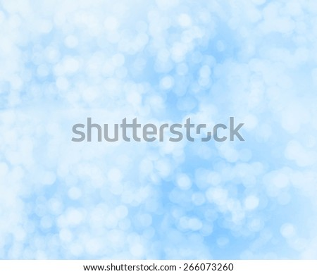 blue bokeh abstract light background. - stock photo