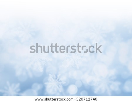 Blue bokeh abstract light background. 3D render