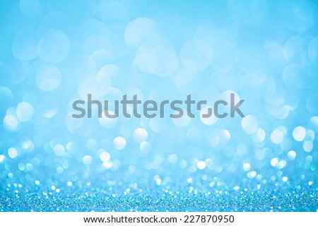 blue bokeh abstract light backgrounds. studio shot - stock photo