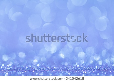 blue bokeh abstract light backgrounds. studio shot