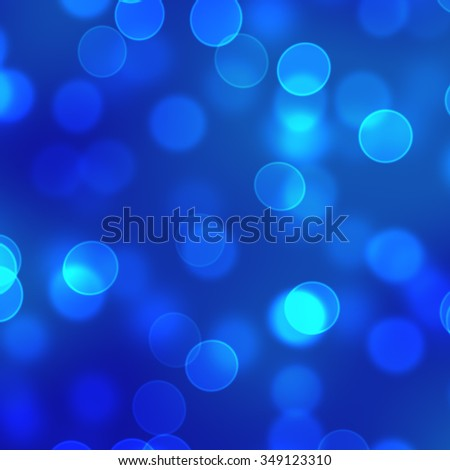 blue bokeh background - stock photo