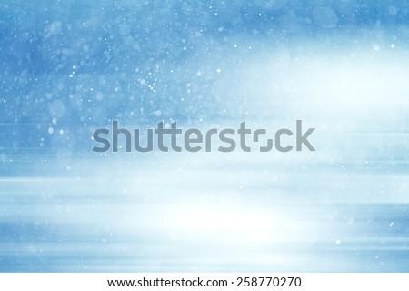 blue bokeh background blur motion - stock photo