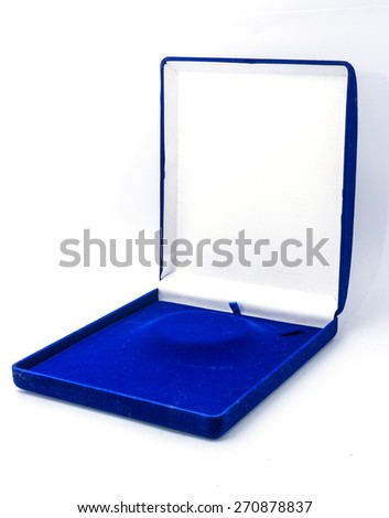 blue box for jewelry