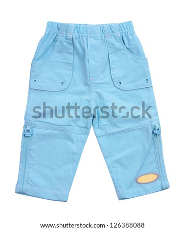 blue breeches - stock photo