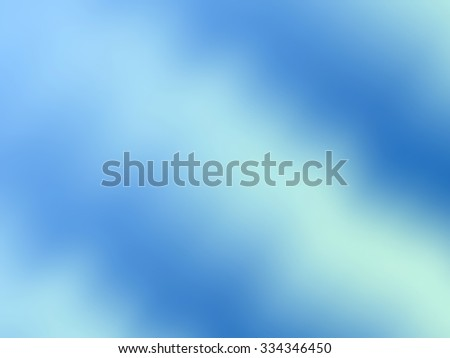 Blue bright background with reflection