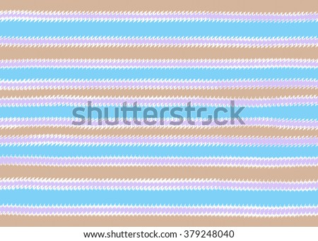 Blue, brown and purple zigzag stripes background