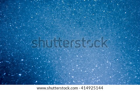 Blue Bubble Background with shimmer effect - stock photo
