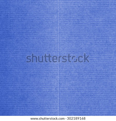 blue cardboard texture. Useful as background