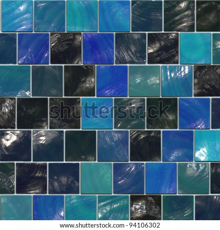 blue ceramic background