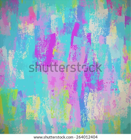 Blue chalk background. Raster version  - stock photo