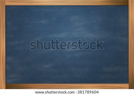 Blue Chalkboard Texture - stock photo