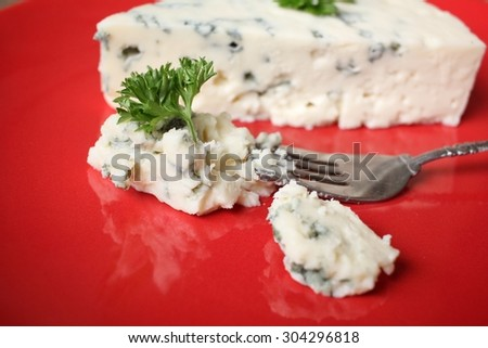 Blue cheese - stock photo