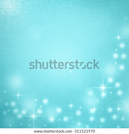blue christmas background decorative elements and subtle material pattern - stock photo