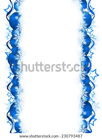 Blue Christmas background for your design.