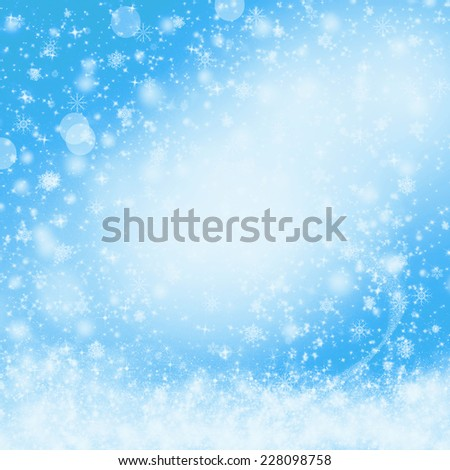 Blue Christmas background. Holiday abstract texture