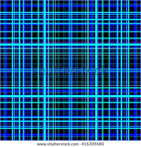 Blue colors grid pattern abstract. - stock photo