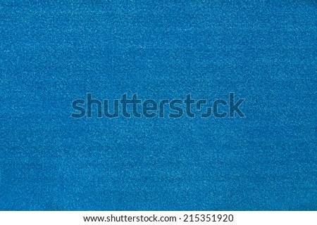 blue cotton surface - stock photo