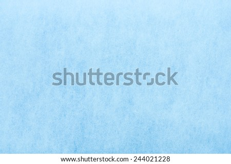 blue cotton texture - stock photo
