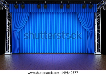 Curtains Ideas blue stage curtains : White Stage Curtains Stock Photos, Royalty-Free Images & Vectors ...