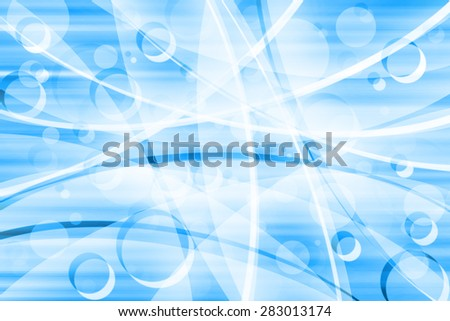 Blue Curves Background,Abstract Blue Background