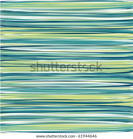 Blue, Cyan and Green Vertical Striped Pattern Background - stock photo