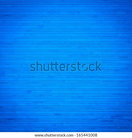 Blue decor stone - dark background texture - stock photo